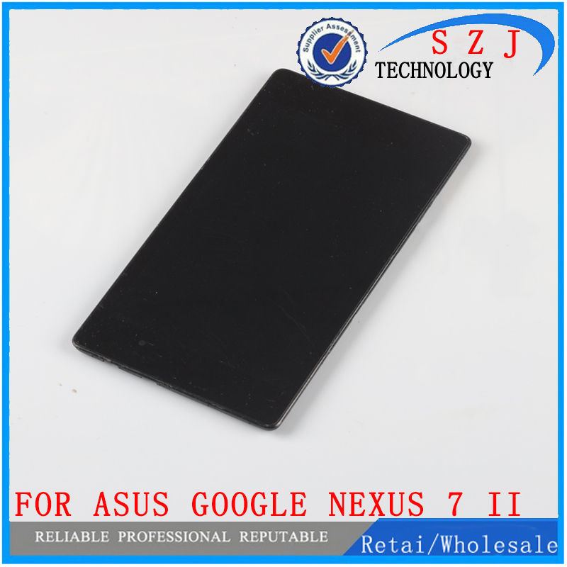 LCD Display +Touch Screen Digitizer with FRAME For ASUS Google Nexus 7 II 2nd 2013 ME571KL K009 Nexus7C LTE/4G/3G LCD Assembly new arrived lcd modules touch digitizer screen frame for google nexus 5 lg d820 d821 free shipping