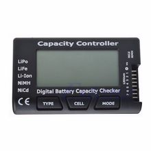 RC CellMeter-7 Digital Battery Capacity Checker For Nicd NiMH LiPo LiFe Li-ion