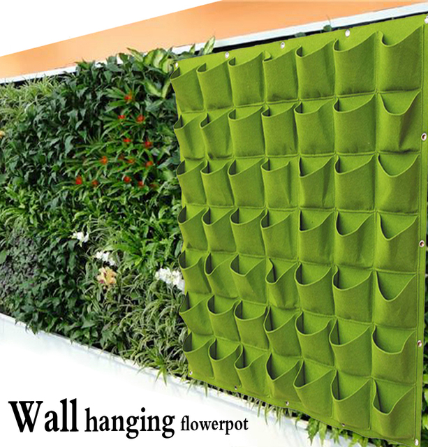 Favoloso Hanging Vasi di Piante Parete Pentola Verticale Giardino Vasi di  HO08