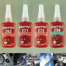 271 272 290 50 Ml Zylindrischen Retainer Locking Klebstoff Metall Schraube Anaeroben Klebstoff Thermische Festigkeit Umwelt Kleber 262