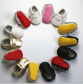 2016 New PU leather Red bottom sole Baby Moccasins Shoe Fringe First Walkers Newborn Soft  Infants Girls Bebes Bow Baby Shoes