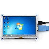 Original Binding Quality Goods 5 Inch HDMI LCD Display Screen Displayer Apply Raspberries Pie BB BLACK