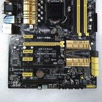 Запасная материнская плата для ASUS Z87 PRO аксессуары для рабочего стола материнской LGA1150 Z87 DDR3 32G SATA3 USB3.0 налог 4790 K поддерживается