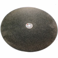 16 Inch 400mm Grit 46 1200 Diamond Grinding Disc Abrasive Wheels Coated Flat Lap Disk Jewelry