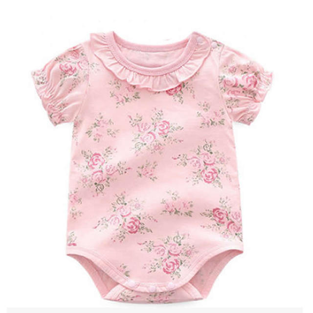0514f95cf Baby Romper Infant Girl Jumpsuit One piece Baby Clothes Newborn ...