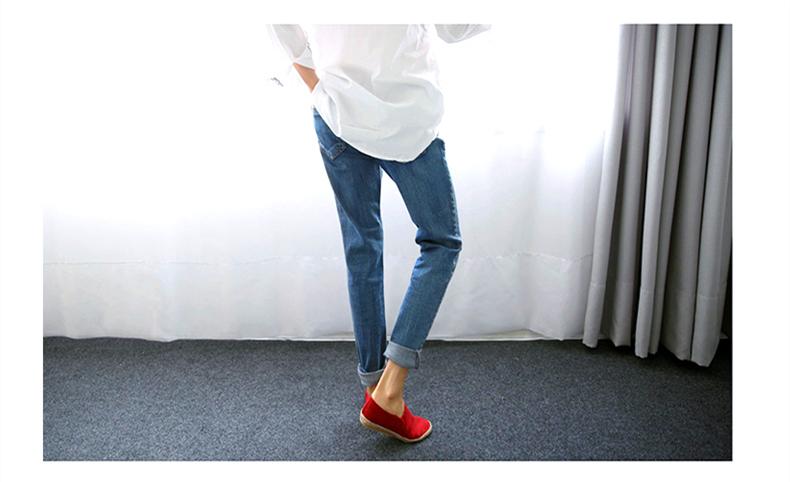 17 New Fashion Autumn Style Women Jeans Elastic Harem Denim Pants Jeans Slim Vintage Boyfriend Jeans for Women Female Trousers 14