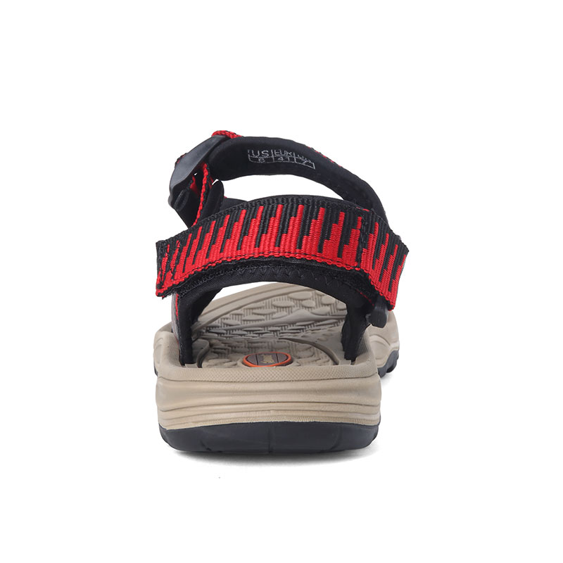 Leather Sandals Men 2018 Fashion Mens Sandals Summer Breathable Casual Beach Sandals Hook&loop Clogs Croks Sandalias