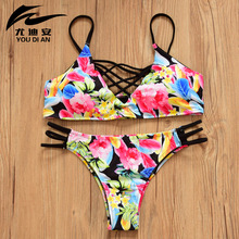 2016 New Sexy Swim Suit Female Foreign Trade Big Chest Swimsuit