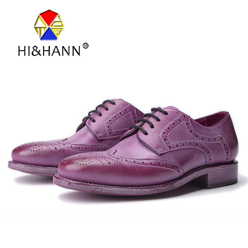 Water Dyeing Bright colors Genuine Leather Men shoes Men Casual Brogue Shoes Men Flats Size US 6-13 Free shippingWater Dyeing Bright colors Genuine Leather Men shoes Men Casual Brogue Shoes Men Flats Size US 6-13 Free shipping
