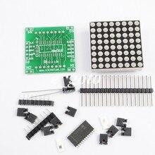 4 шт. MAX7219 Матричные Модуль каскад Управление Дисплей модуля DIY Kit Электронные весело для Arduino
