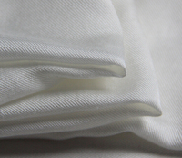 100 Pure Mulberry Silk Fabric Pink White Cotton Twill Soft Scarf Skirt Dressmaking Materials Silk Clothes