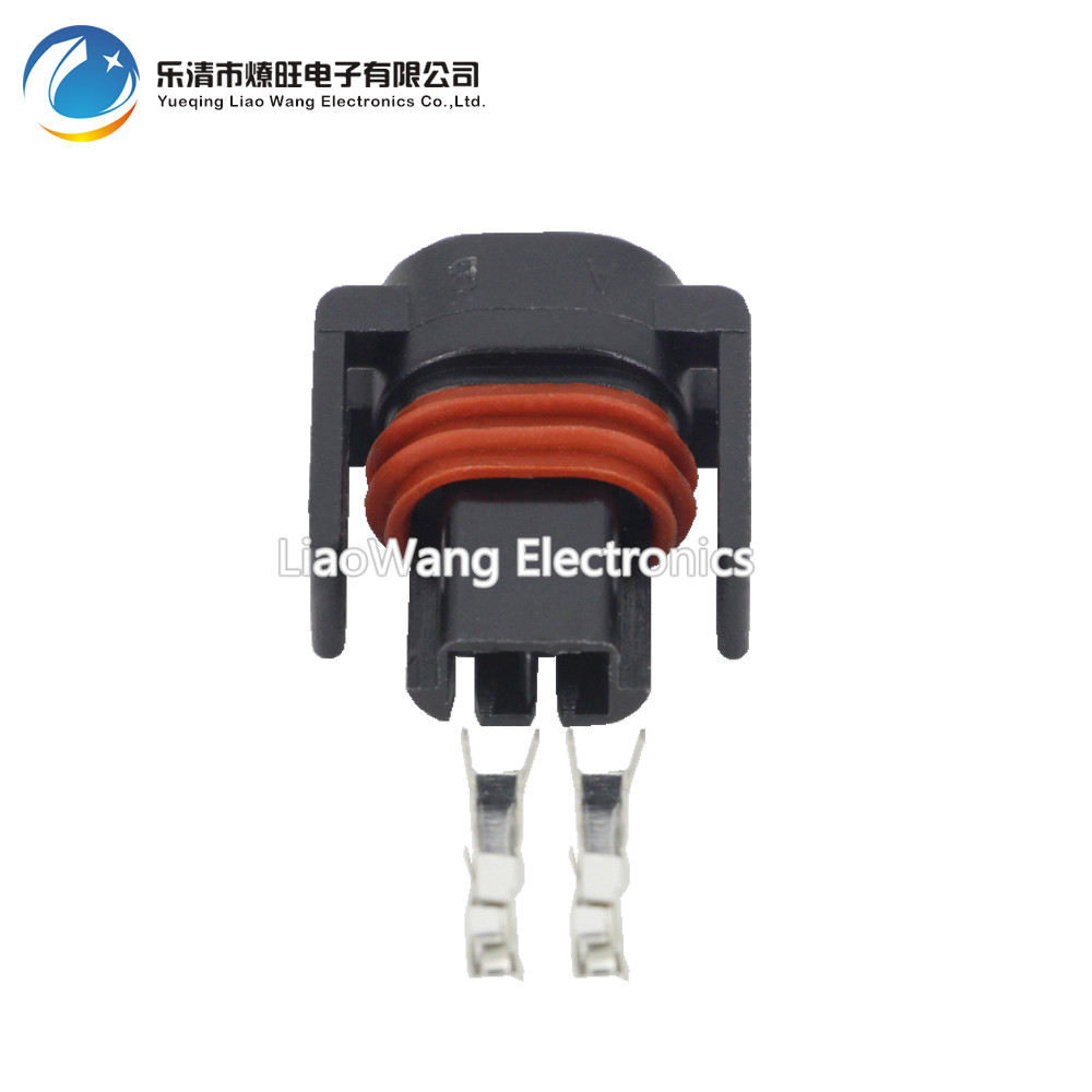2 Pin plug conector com Terminais do conector do chicote de fiação Automotiva DJ7027Y-1.5-21 2 P