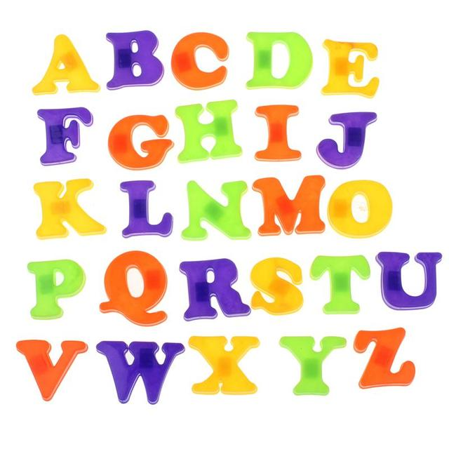 Lot Letters Stickers Fridge Magnet Baby Child Toy Educational English Alphabet 26 Rb Letter Images Hd