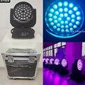 (4 света + корпус) Светодиодные лампы для сцены  движущиеся светодиодные лампы для мытья головы 36x18 Вт 6 в 1 dmx для мытья УФ движущихся головных ...