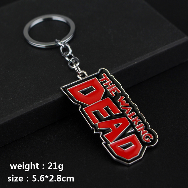 The Walking Dead Keychains