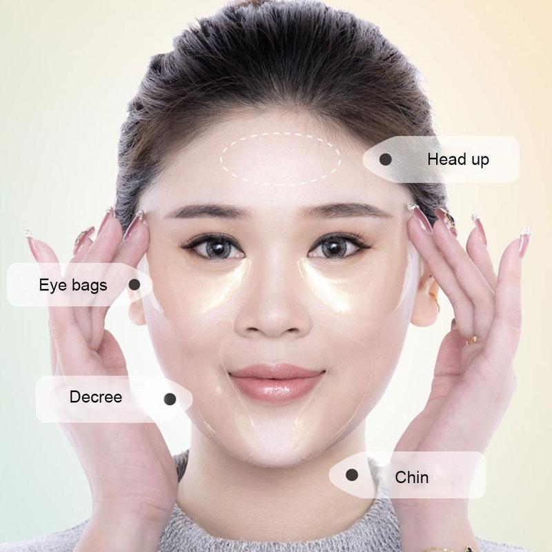 60pcs Gold/Seaweed Collagen Eye Mask Anti Wrinkle Gel Sleep Eye Patches Collagen Under The Eye Bags Dark Circles Eye Pads 3