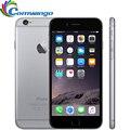 """Оригинальный Разблокирована Apple iPhone 6 Сотовые Телефоны ОЗУ 1 ГБ ROM 16/64/128 ГБ 8MP 4.7 """"IPS GSM WCDMA LTE iPhone6 Бывших В Употреблении Мобильных Телефонов"""
