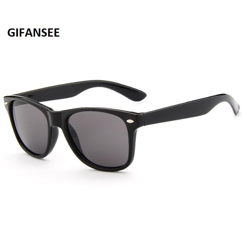Retro Square Large Frame Sunglasses Kids Sunshade UV Protection Sunglasses 6K