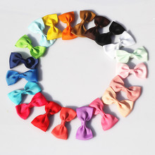 цена M MISM Top Sale 1 Package=20 PCS Candy Color Hairclips For Princess Girls Bow Tie Headband Party Children Hair Accessories