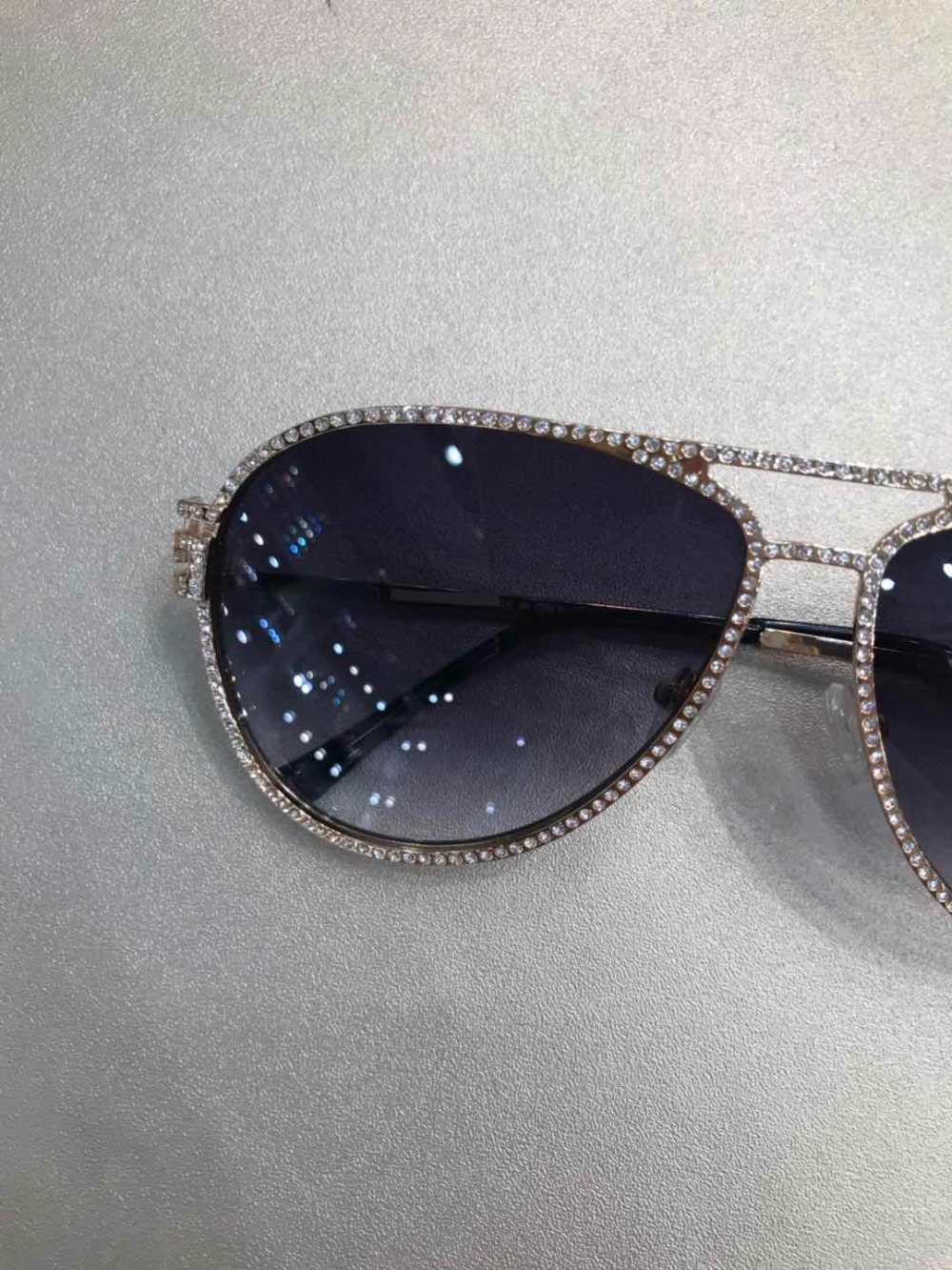 Runway Designer Sonnenbrille Marke Carter Luxus Für Frauen schwarzes 2018 Gelb Gläser Y0739 T5Xqx