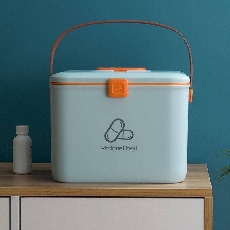 Boîte de rangement pour boîte médicale avec poignée de trousse de premiers secours balter boîte de rangement pour pharmacie