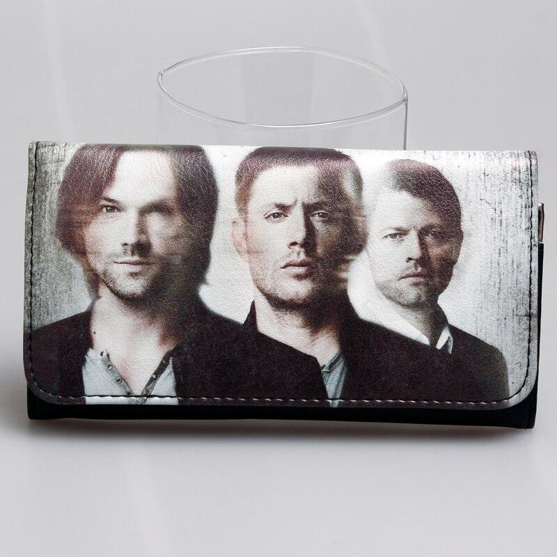 supernatural women  long purse join the hunt Black wallet DFT-1803