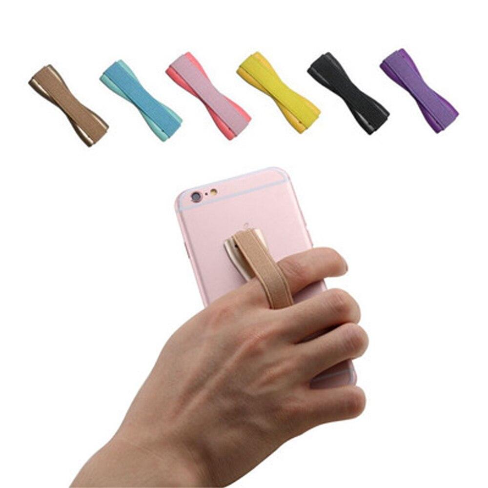 Mobile Phone Finger Holder Phone Grip Elastic Band Strap Universal Phone Holder For Mobile Phones Tablets Anti Slip