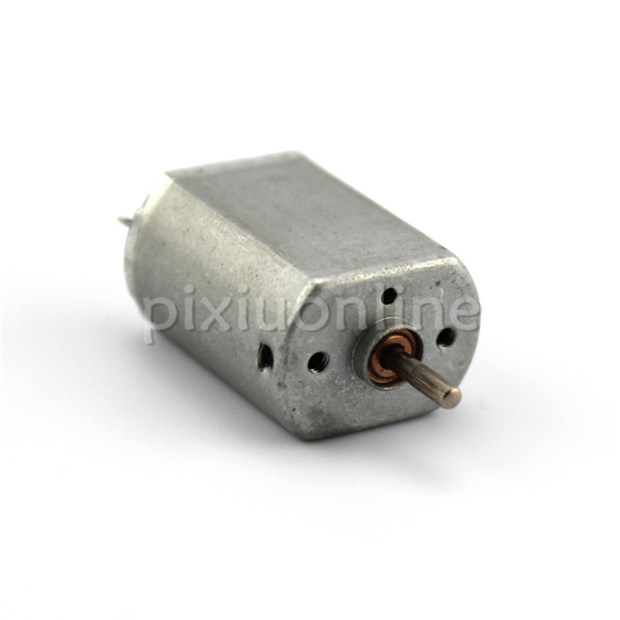 1pc J649b 130 Micro DC Motor 3-6V Iron Rear Cover DIY Model Making Parts Free Shipping Russia 5pcs lot k364 right angle 9 hole iron plate piece micro architecture model diy parts free shipping russi