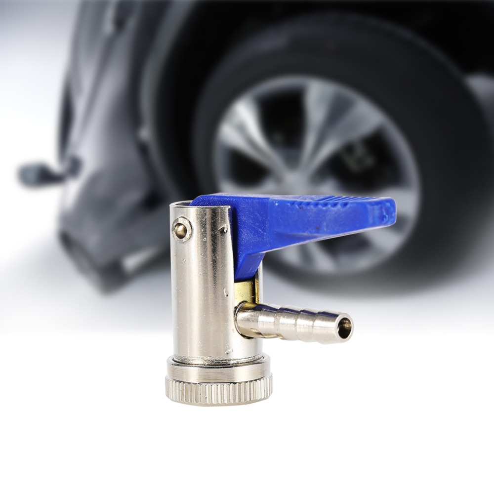 6mm Clip on Chuck Tire Valve Connector Tyre Airline Inflator Valve Car Motorbike