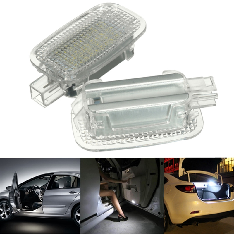 2X LED Car Door Courtesy Luggage Footwell Shadow Lights For Mercedes/Benz W204 W216 W217 W221 R230 C197 W212 W169 Canbus auto fuel filter 163 477 0201 163 477 0701 for mercedes benz