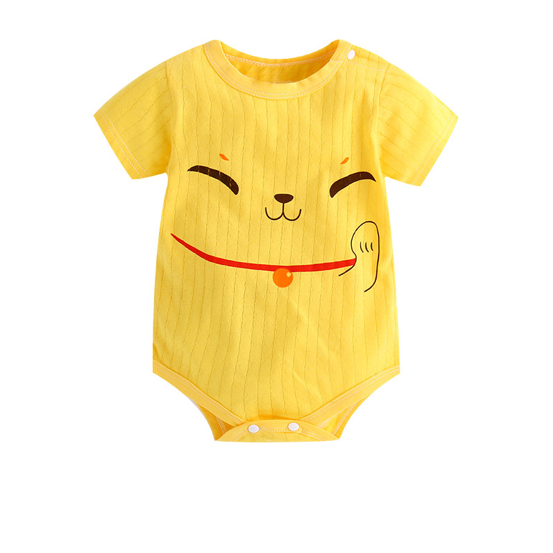 New Summer Baby Boys Romper Animal style Short Sleeve infant rompers Jumpsuit cotton Baby Rompers Newborn Clothes Kids clothing