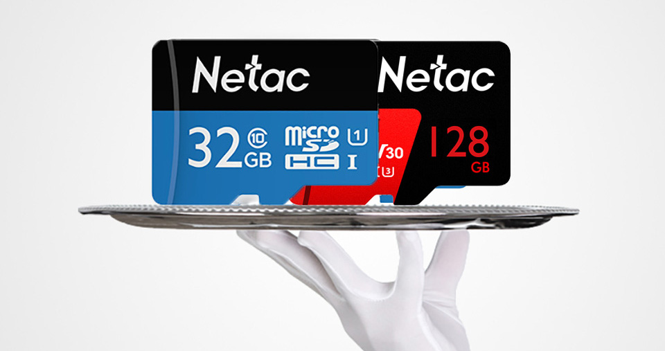 Netac Class 10 32GB 64GB 256 GB Micro SD Card 16GB 128GB 32 64 GB TF Card Data Storage Flash Memory Card For Smartphone Phone 7