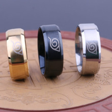 Stainless Steel Naruto Rings