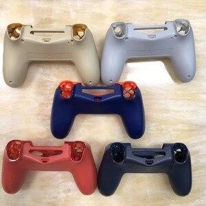 Image 3 - PS4 PRO obudowa obudowa przednia wymiana dla konsoli Playstation 4 Dualshock 4 Pro 4.0 V2 Gen 2th kontroler JDM 040 JDS 030