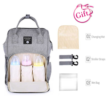 TUKATO Mummy Maternity Nappy Bag new styles Large Capacity Baby Bag  Backpack Maternity Designer Nursing Bag for Baby Care