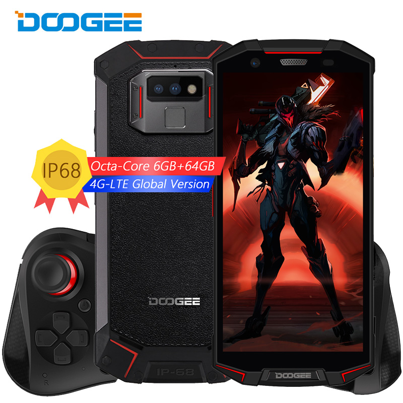 IP68/IP69K Waterproof DOOGEE S70 Mobile Phone NFC 5500mAh 12V2A Quick Charge 5.99