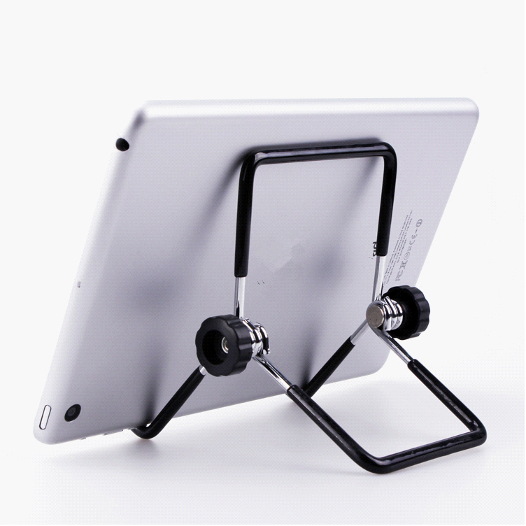 Portable Metal Holder Stand for iPad Samsung Galaxy Tab 5/'/'-10/'/' PC Tablet