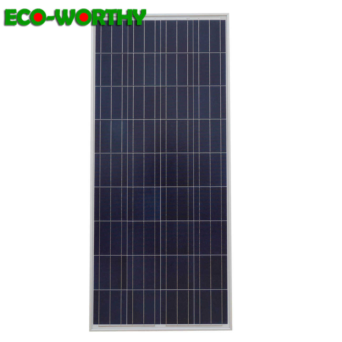160W 18V Polycrystalline PV Solar power Panel Module 12V off Grid Battery Charging for Boat Household