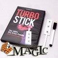Turbo palo con gimmickby Richard Sanders / calle de cerca profesional de productos trucos de magia / envío gratis