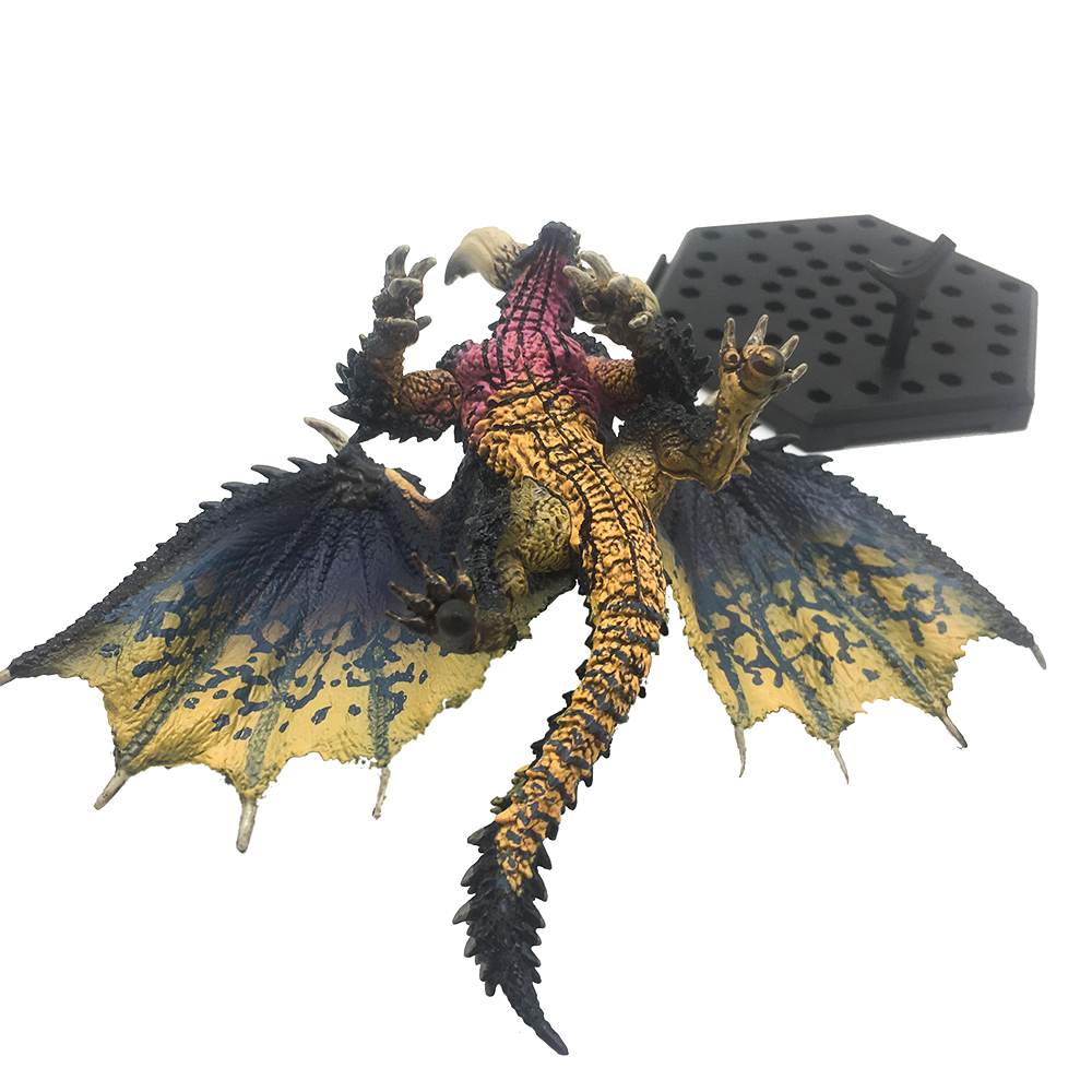 Japan Anime Monster Hunter WORLD Game Figure Nergigante PVC Models Ancient Dragon Action Figure Decoration Toy Model 3