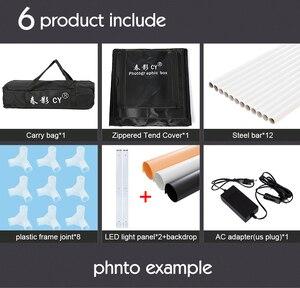 Image 5 - をサイプロ 32 80 × 80 × 80 センチ写真スタジオライトボックス LED ソフトボックス撮影ライトテントフォトボックスセットベビー衣料用 lichtbak