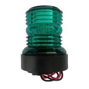 Image 2 - LED Navigatie Anker Lamp Marine Boot Jacht Licht Alle Ronde 360 Graden 12 V Rood Groen Wit
