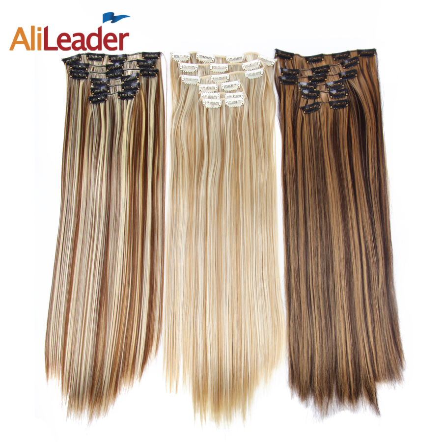 Alileader Clip In Extensions Ombre 16 Colors 16 Clips 22