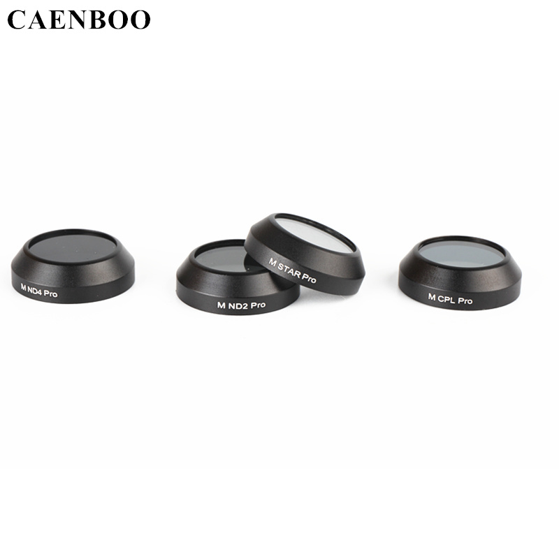 CAENBOO For DJI Mavic Pro filter Lens Protector ND 2 ND4 CPL Star Filter Quadcopter Drone