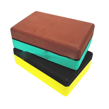 EVA Yoga Blocks Bricks Foaming Exercise Fitness Practice Tool Foam Home Health Gym 2 color design