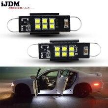 IJDM автомобиль canbus 43 мм Светодиодная гирлянда 211-2 212-2 214-2 561 белый для автомобиля боковой двери лампы подсветки купол Интерьер Чтение свет 12 В