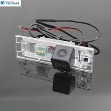 YESSUN الرؤية الخلفية كاميرا ل ميني كوبر R55 R57 R60 R61 ترخيص لوحة ضوء كاميرا HD CCD للرؤية الليلية + للماء + كاميرا