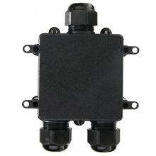 цена на Waterproof IP68 3 Way Electrical Junction Box Cable Plug Connector Outdoor Junction Box Distribution Protection Case Mayitr