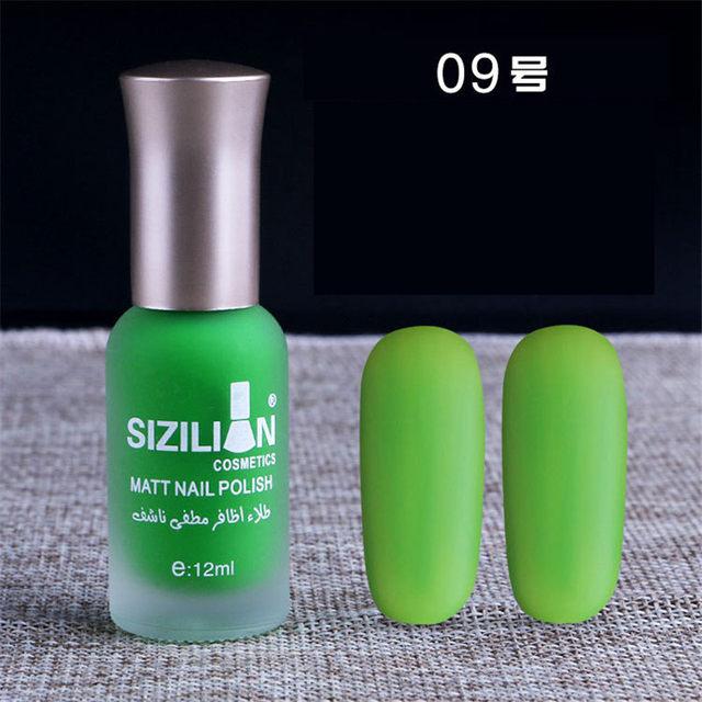Tienda Online 15 Colores Satén Mate Botella de Larga Duración Nail ...