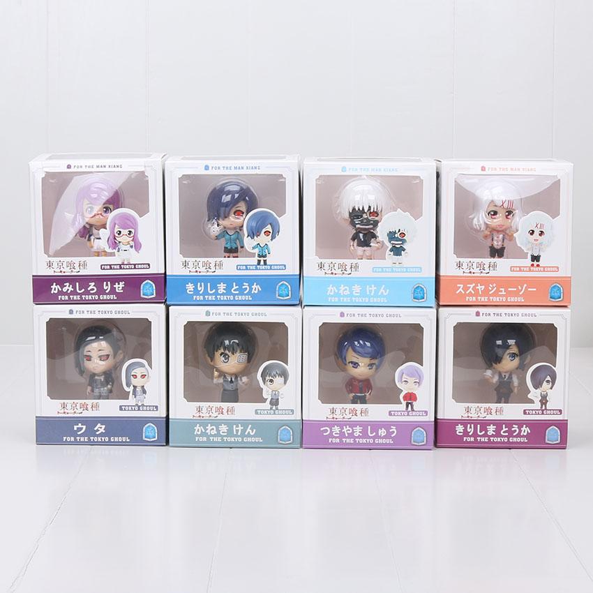 4pcs-set-Anime-Tokyo-Ghoul-Figurine-Ken-Kaneki-Touka-Kirishima-Shuu-Tsukiyama-Action-Figures-Model-Toys